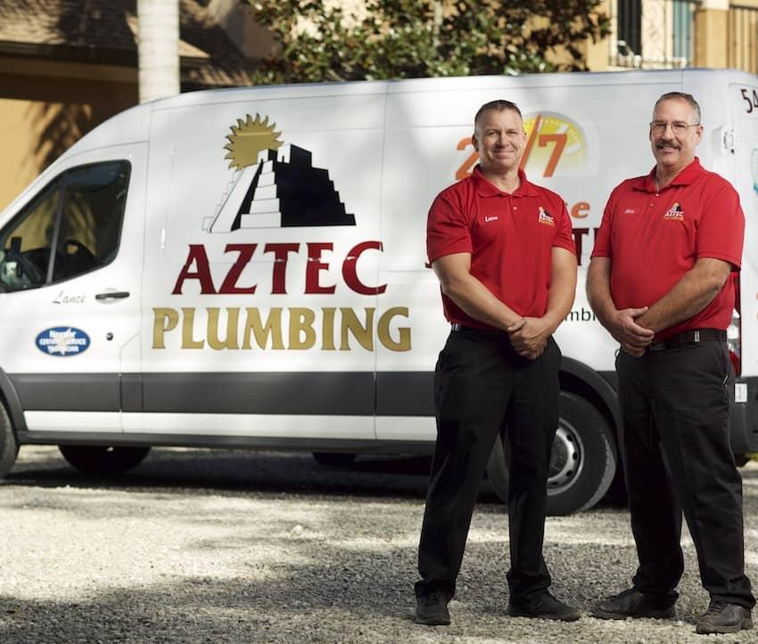 Cape Coral Plumbing -- Aztec Plumbing -- (239) 829-6406