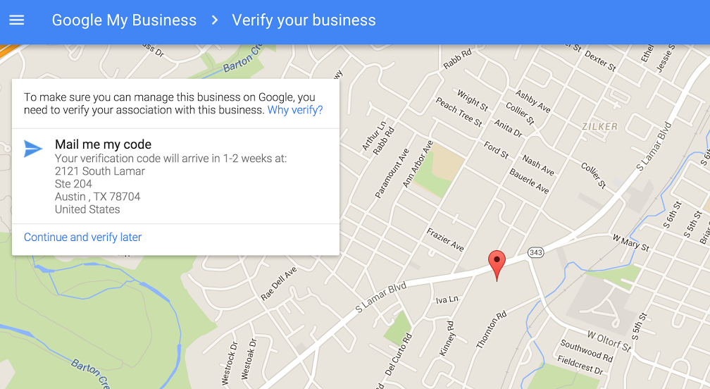 how to put your business on google maps