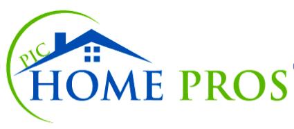 PIC Home Pros Logo