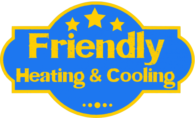 Friendly Heating & Cooling Logo