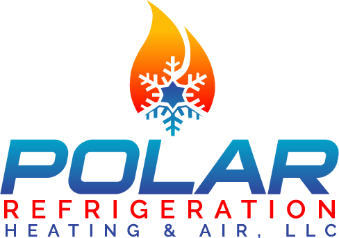 Polar Refrigeration, Heating and Air Conditioning Logo