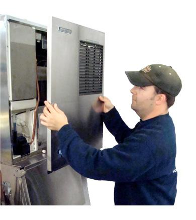 Conroe Commercial Ice Machine Service