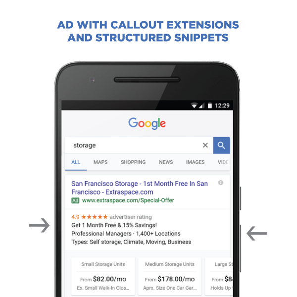 Callout Extensions and Structured Snippets