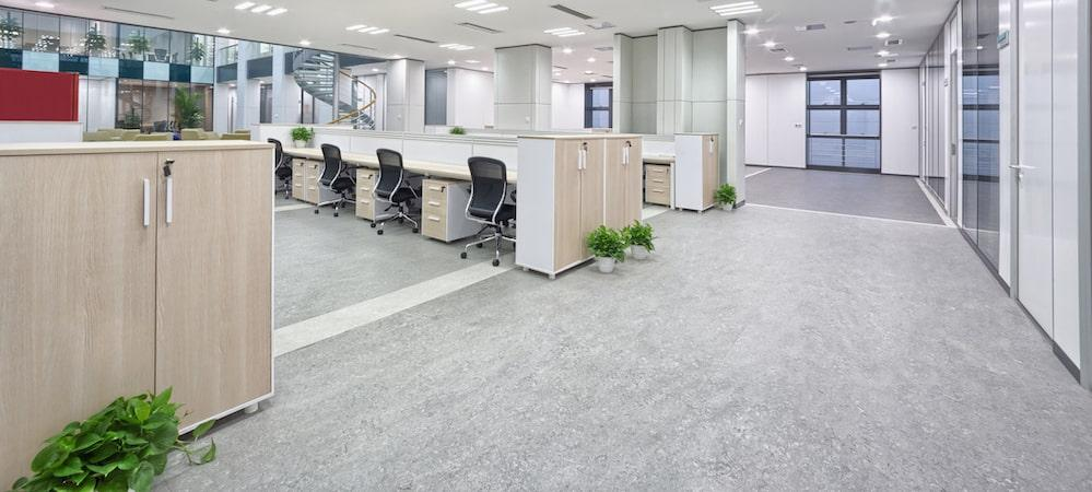 Finished Commercial Flooring