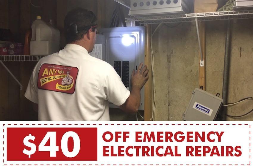 Salt Lake City Emergency Electrician