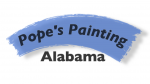Pope's Painting Logo
