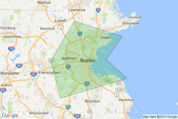 Contact Us and Service Area Boston Foundation Repair